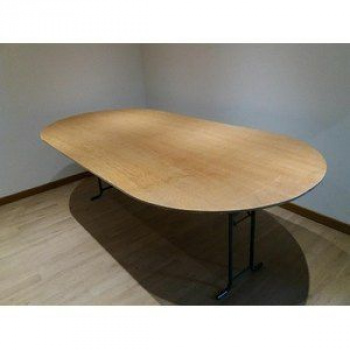 Table ovale 250x120 10/12 pers